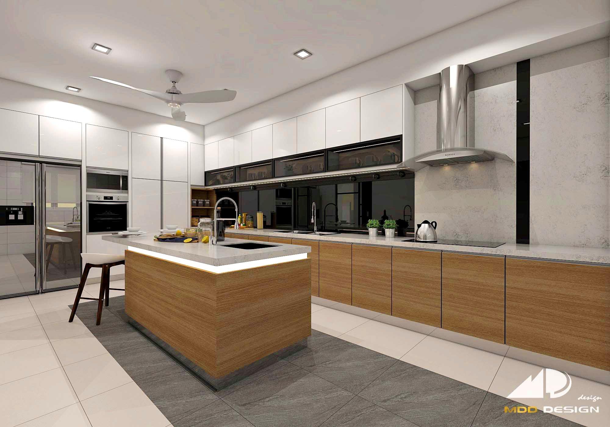 wet kitchen  mdd design